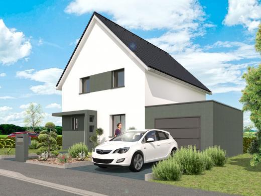 Maison+Terrain à vendre .(110 m²)(COLMAR) avec (MAISONS CRISALIS)