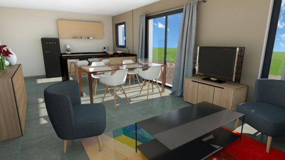 Maison à vendre .(75 m²)(VOLVIC) avec (MAISONS ELAN)
