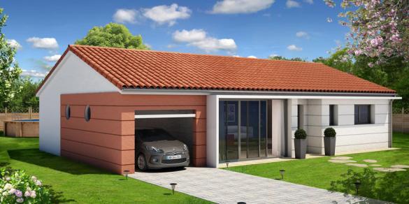 Maison à vendre .(95 m²)(VOLVIC) avec (MAISONS ELAN)