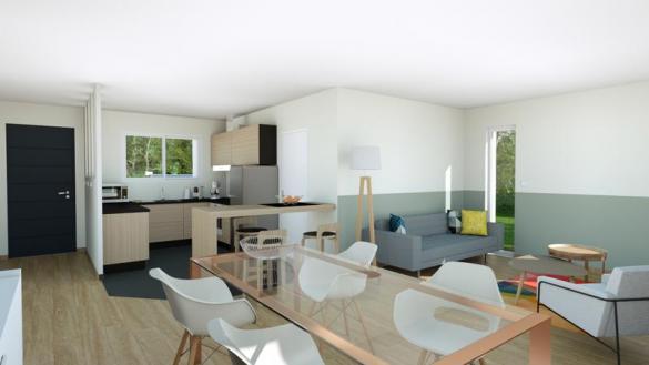 Maison à vendre .(89 m²)(VOLVIC) avec (MAISONS ELAN)