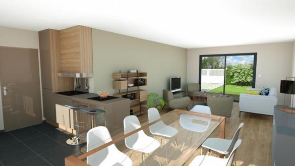 Maison à vendre .(89 m²)(VERTAIZON) avec (MAISONS ELAN)