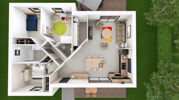 Maison à vendre .(83 m²)(VERTAIZON) avec (MAISONS ELAN)