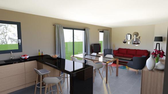 Maison à vendre .(76 m²)(SAINT CIRGUES SUR COUZE) avec (MAISONS ELAN)