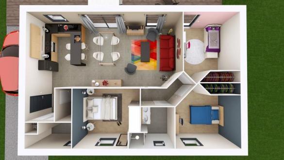 Maison à vendre .(75 m²)(ISSOIRE) avec (MAISONS ELAN)
