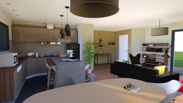 Maison à vendre .(94 m²)(RIOM) avec (MAISONS ELAN)