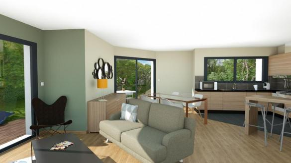 Maison à vendre .(88 m²)(SAINT LAURE) avec (MAISONS ELAN)