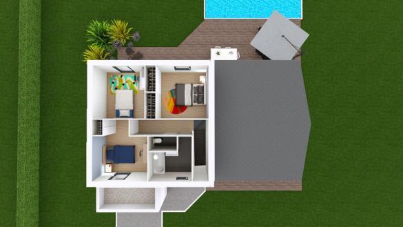Maison à vendre .(109 m²)(ENVAL) avec (MAISONS ELAN)