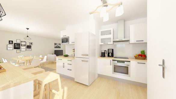 Maison+Terrain à vendre .(106 m²)(VILLEMUR SUR TARN) avec (Maison Castor)
