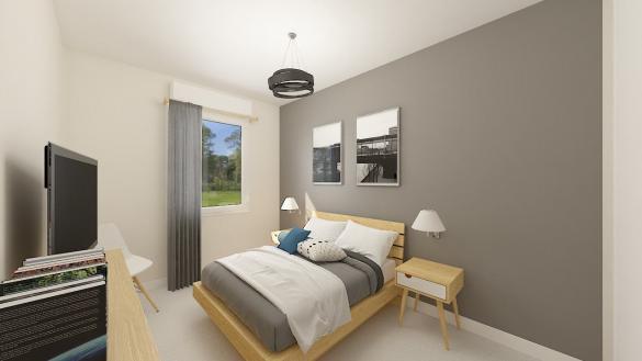 Maison+Terrain à vendre .(84 m²)(VILLEMUR SUR TARN) avec (Maison Castor)