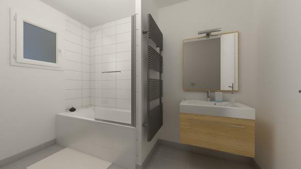 Maison+Terrain à vendre .(84 m²)(REVEL) avec (Maison Castor)