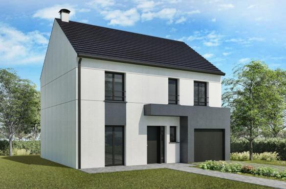 Maison+Terrain à vendre .(114 m²)(BESSANCOURT) avec (MAISONS DELMAS)