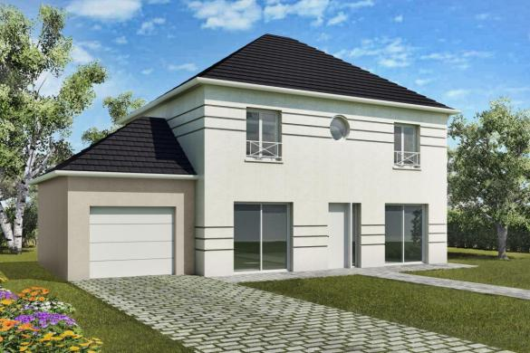 Maison+Terrain à vendre .(127 m²)(MEAUX) avec (MAISONS DELMAS)