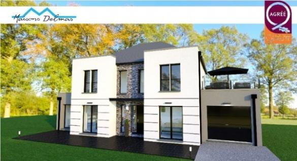 Maison+Terrain à vendre .(141 m²)(BESSANCOURT) avec (MAISONS DELMAS)