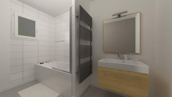 Maison+Terrain à vendre .(65 m²)(RONQUEROLLES) avec (MAISONS PHENIX MOISSELLES/BAILLET EN FC)