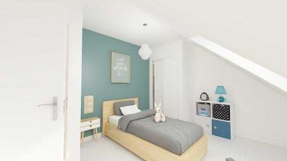 Maison+Terrain à vendre .(105 m²)(SAINT CREPIN IBOUVILLERS) avec (MAISONS PHENIX MOISSELLES/BAILLET EN FC)