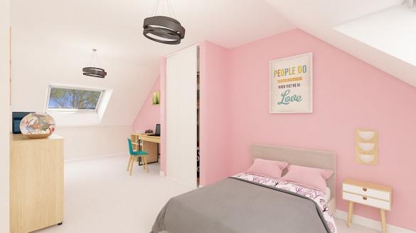 Maison+Terrain à vendre .(115 m²)(CAMPAGNE) avec (MAISONS PHENIX MOISSELLES/BAILLET EN FC)