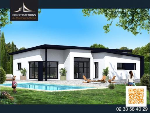 Maison à vendre .(95 m²)(BREHAL) avec (CONSTRUCTION DU MONT SAINT MICHEL)