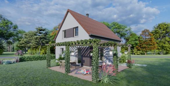 Maison à vendre .(100 m²)(KUTTOLSHEIM) avec (SOCIETE MAISONS HANAU)