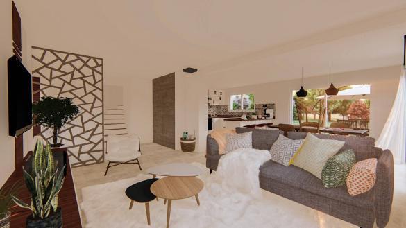 Maison à vendre .(110 m²)(KUTTOLSHEIM) avec (SOCIETE MAISONS HANAU)