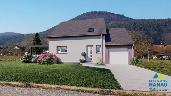 Maison à vendre .(90 m²)(DOSSENHEIM SUR ZINSEL) avec (SOCIETE MAISONS HANAU)