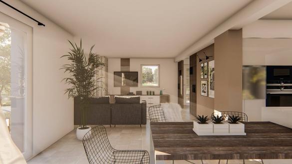Maison à vendre .(118 m²)(BRUMATH) avec (SOCIETE MAISONS HANAU)