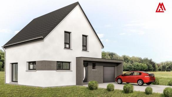 Maison+Terrain à vendre .(100 m²)(SCHLIERBACH) avec (MAISONS ARLOGIS)