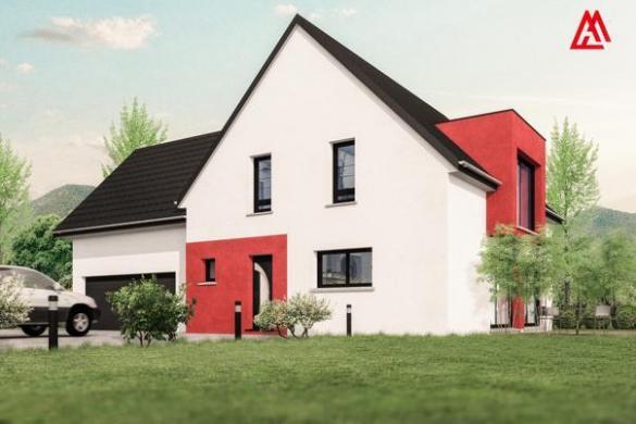 Maison+Terrain à vendre .(160 m²)(STEINBRUNN LE BAS) avec (MAISONS ARLOGIS)