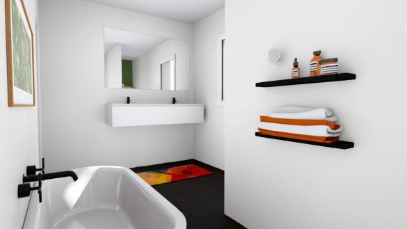 Maison+Terrain à vendre .(100 m²)(COLMAR) avec (MAISONS ARLOGIS)