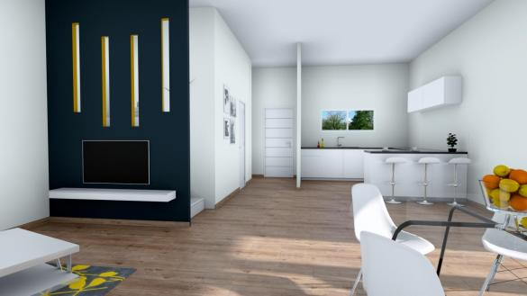 Maison+Terrain à vendre .(100 m²)(STEINBRUNN LE BAS) avec (MAISONS ARLOGIS)