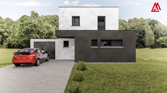 Maison+Terrain à vendre .(100 m²)(PLOBSHEIM) avec (MAISONS ARLOGIS)