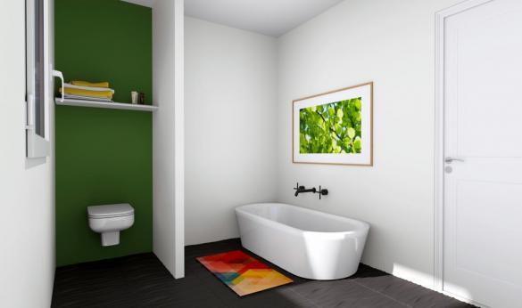 Maison+Terrain à vendre .(100 m²)(SEPPOIS LE BAS) avec (MAISONS ARLOGIS)