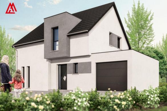 Maison+Terrain à vendre .(100 m²)(KINGERSHEIM) avec (MAISONS ARLOGIS)