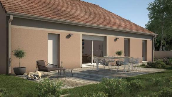 Maison+Terrain à vendre .(90 m²)(SAINT VIT) avec (MAISONS FRANCE CONFORT)