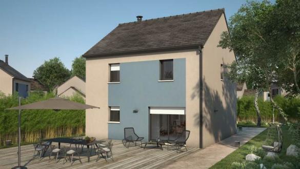 Maison+Terrain à vendre .(93 m²)(CHATILLON LE DUC) avec (MAISONS FRANCE CONFORT)