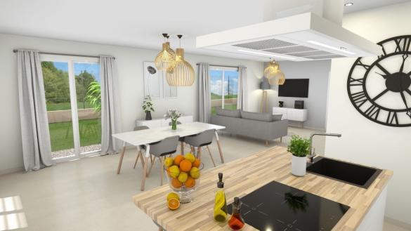 Maison+Terrain à vendre .(129 m²)(DIEMOZ) avec (GANOVA)