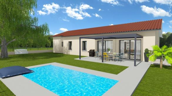 Maison+Terrain à vendre .(122 m²)(DIEMOZ) avec (GANOVA)