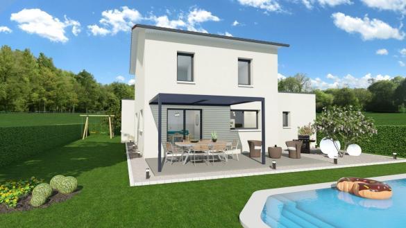 Maison+Terrain à vendre .(120 m²)(DIEMOZ) avec (GANOVA)
