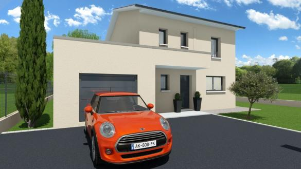 Maison+Terrain à vendre .(125 m²)(DIEMOZ) avec (GANOVA)