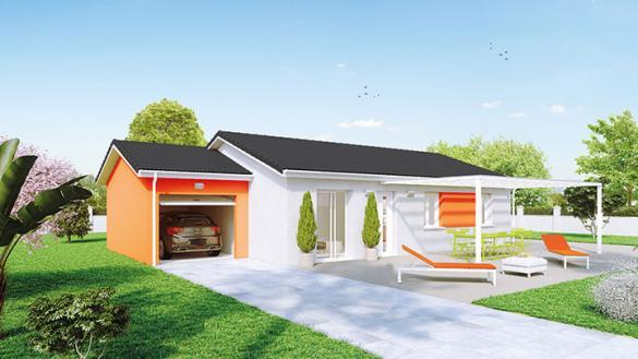 Maison à vendre .(89 m²)(VONNAS) avec (Crea Concept Villefranche)