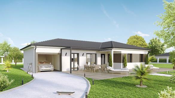 Maison à vendre .(100 m²)(SAINT SYMPHORIEN D'ANCELLES) avec (Crea Concept Villefranche)