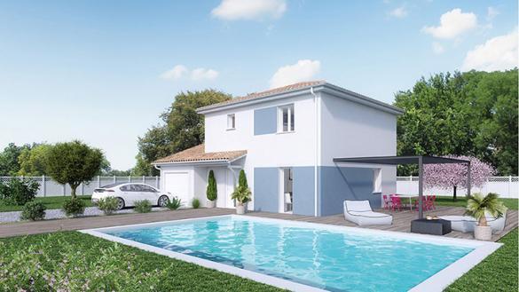 Maison à vendre .(95 m²)(GUEREINS) avec (Crea Concept Villefranche)