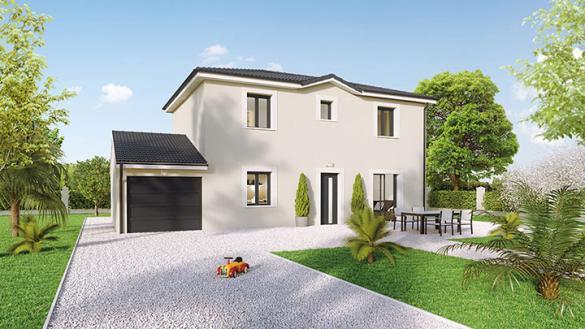 Maison à vendre .(90 m²)(JULIENAS) avec (Crea Concept Villefranche)