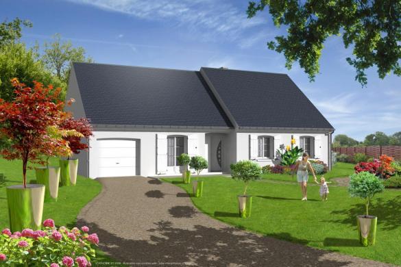 Maison+Terrain à vendre .(90 m²)(LES MONTILS) avec (LES MAISONS VIGERY)