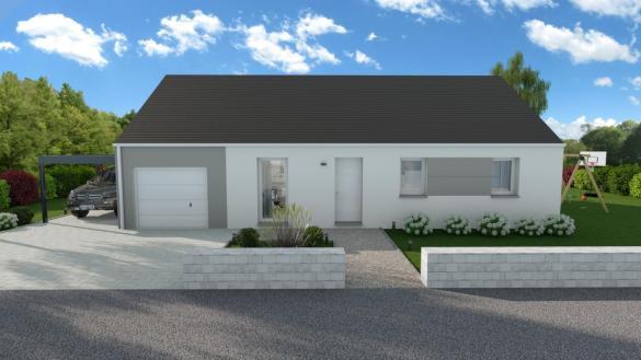 Maison+Terrain à vendre .(SARAN) avec (LES MAISONS VIGERY)