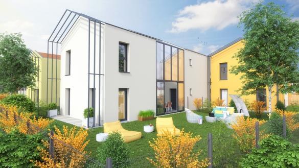Maison+Terrain à vendre .(96 m²)(SAINT MARCEL) avec (MAISONS AXIAL)