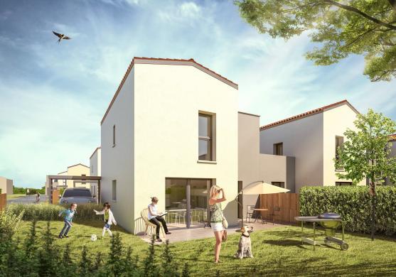 Maison+Terrain à vendre .(97 m²)(DOMMARTIN) avec (MAISON AXIAL)