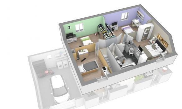 Maison+Terrain à vendre .(140 m²)(DECINES CHARPIEU) avec (MAISON AXIAL)