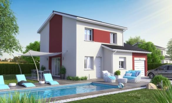 Maison+Terrain à vendre .(120 m²)(LES OLMES) avec (MAISON AXIAL)