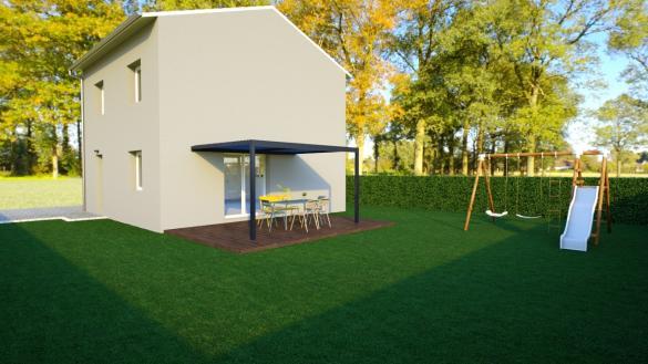 Maison+Terrain à vendre .(90 m²)(MEXIMIEUX) avec (MAISONS AXIAL)