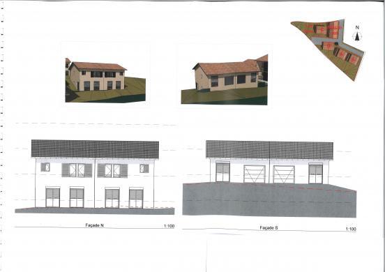 Maison+Terrain à vendre .(87 m²)(LIERGUES) avec (MAISONS AXIAL)